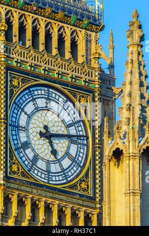 UK, England, London, Westminster, Houses of Parliament, Big Ben - Stock Image