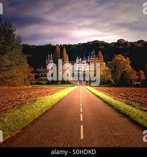 Chateau - Stock Image
