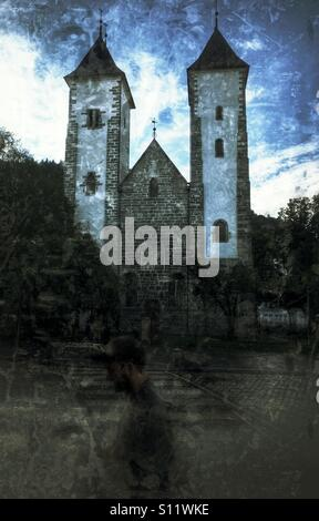 Maria church - Stock Image