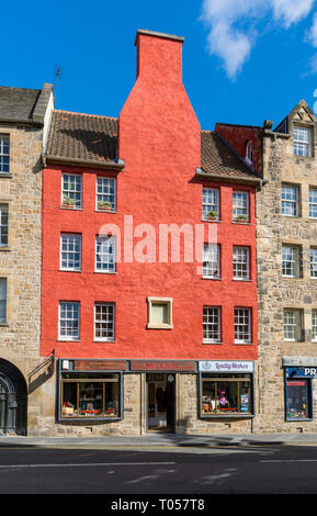 Gordon Nicolson Kiltmakers shop, Canongate, Royal Mile, Edinburgh, Scotland, UK - Stock Image