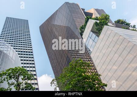 skyscraper in bangkok - Stock Image
