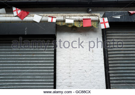 England - shuttered up/closed for business/recession/forlorn etc. Dartford, Kent, UK. - Stock Image