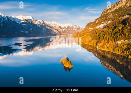 Lake Brienz, Interlaken-Oberhasli, Berner Oberland, canton of Bern, Switzerland - Stock Image