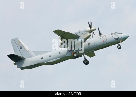 Croatian Air Force An-32B transport aircraft taking off - Stock Image