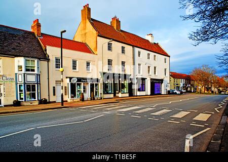 Sedgefield, Shops, County Durham, England - Stock Image