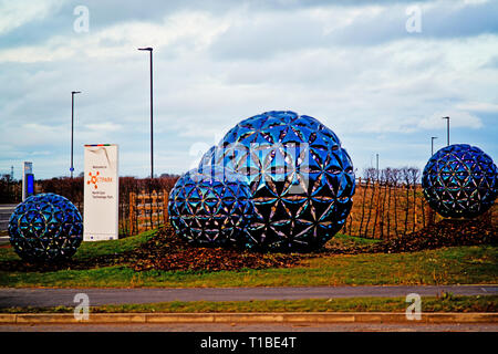 Net Park, Sedgefield, County Durham, England - Stock Image