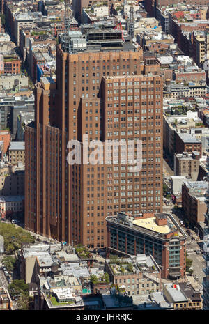 AT&T Building in Downtown Manhattan - Stock Image