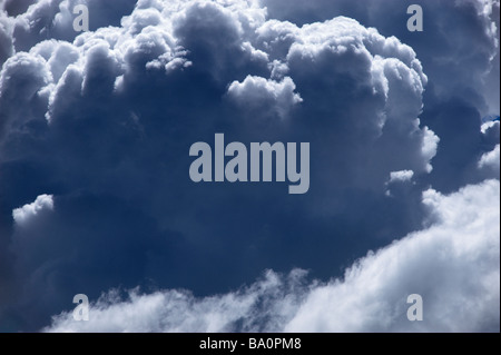 Growing storm clouds - Stock Image