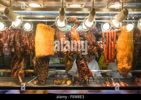 Marina Bay, Food Center, Rasapura Masters, Chinese Food, ducks, Singapore, Singapur, Southest Asia, travelstock44 - Stock Image