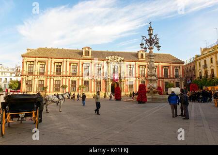 Palacio Arzobispal - Stock Image