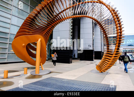 The TransCanada Pipeline Limited offices located at 450 1st Street Southwest in Calgary, Alberta Canada - Stock Image