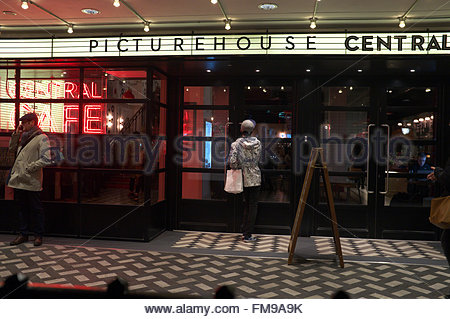Picturehouse Central cinema, in Piccadilly, London, UK. - Stock Image