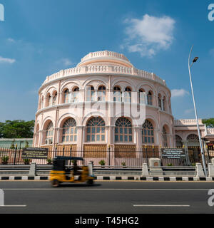 Square view of the Ice House in Chennai, India. - Stock Image