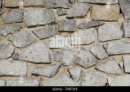 Abstract stone tile texture brick wall background. - Stock Image
