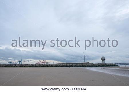 Crosy Seaside - Stock Image