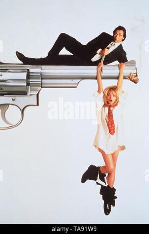 SWITCH (1991)  JIMMY SMITS  ELLEN BARKIN  BLAKE EDWARDS (DIR)  WARNER BROS/MOVIESTORE COLLECTION LTD - Stock Image