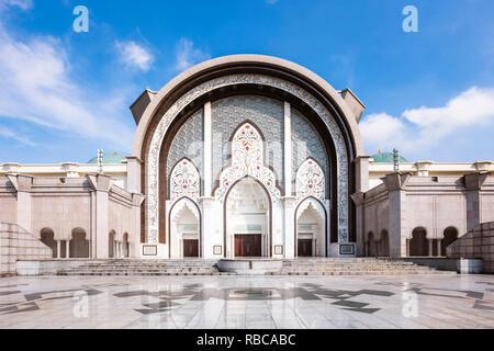 Federal Territory Mosque (Malay: Masjid Wilayah Persekutuan), Kuala Lumpur, Malaysia - Stock Image