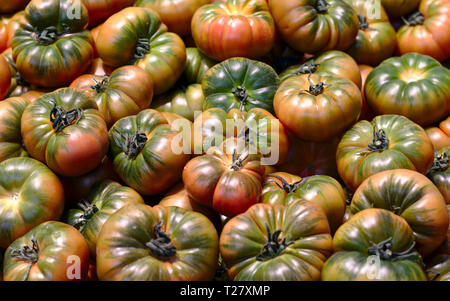 Fresh vegetables and fruits, one day at the street market, searching for colors. - Stock Image