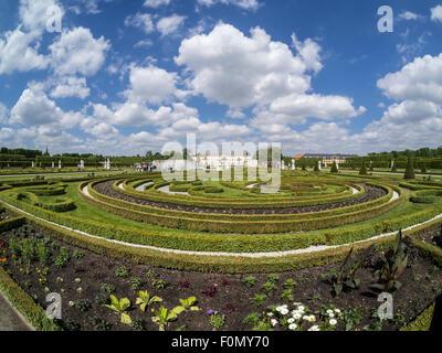 Herrenhaeuser Gaerten, park at castle Herrenhausen, Hannover, Germany - Stock Image