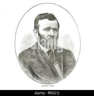 President Ulysses S. Grant - Stock Image