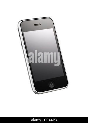 A cut out of an iPhone 3GS - Stock Image