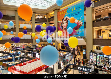Stockmann department store interior Helsinki shopping - Stock Image