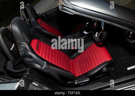 2018 Fiat 124 Abarth Spider - Stock Image