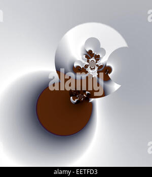 Chocolate Eclipse - Stock Image
