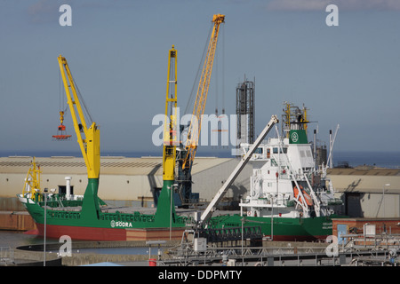 Cellus Kollmar Cargo Ship, Hendon Docks, Sunderland. - Stock Image