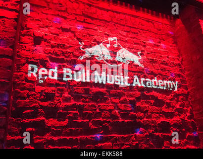 Red Bull Music Academy - Stock Image