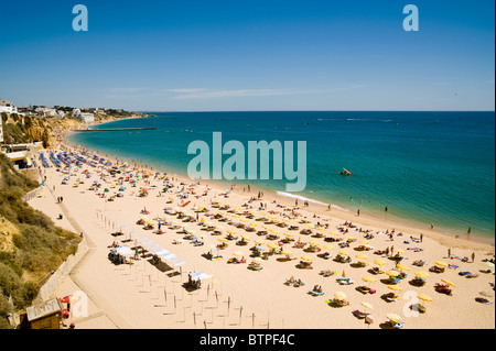 Albufeira Beach, Algarve, Portugal - Stock Image