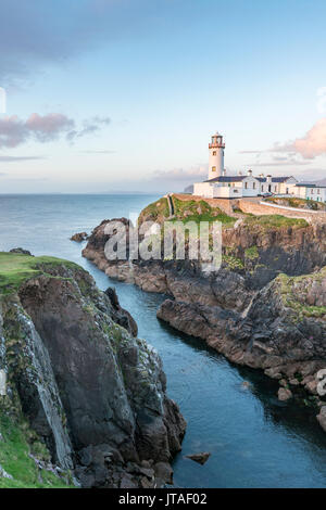 Fanad Head lighthouse, County Donegal, Ulster region, Republic of Ireland, Europe - Stock Image