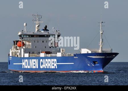 RoRo vessel Exporter - Stock Image