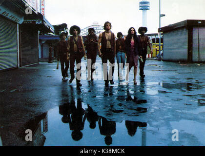 THE WARRIORS [?], [?], DAVID HARRIS, MICHAEL BECK, [?], DEBORAH VAN VALKENBURGH, BRIAN TYLER - Stock Image