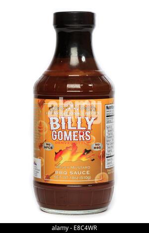 Billy Gomer's Denver Sytle Honey Mustard BBQ Sauce - Stock Image