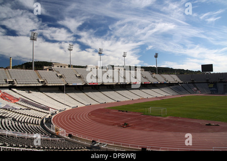 Olympic games stadium in Barcelona year:1992 - Stock Image