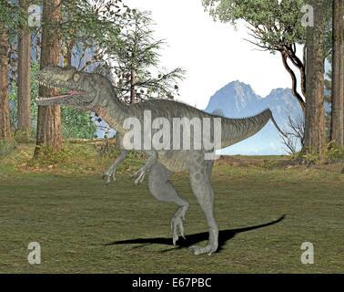 Dinosaurier Megalosaurus / dinosaur Megalosaurus - Stock Image
