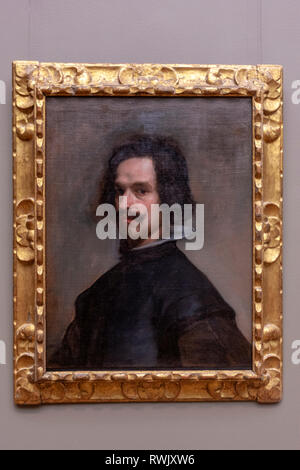Portrait of a Man, by Diego Velázquez, The Metropolitan Museum of Art, Manhattan, New York USA - Stock Image