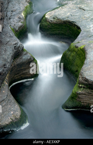 Scenic view of the coats in Cornwall - Stock Image