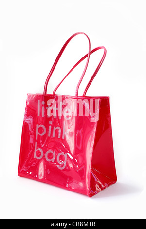 Little pink bag - Stock Image