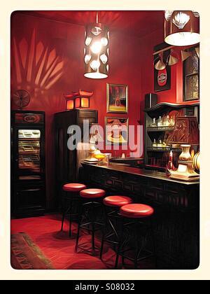 Bar in the hotel California, Baja - Stock Image