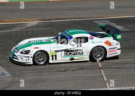 Dodge Viper Competition Coupe, GT3 Brazilian Racing Cup, Nelson Piquet Autodrome, Brasilia, Brazil, South America - Stock Image