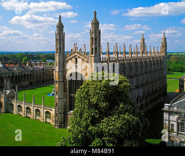 King's College, Cambridge, England, UK - Stock Image