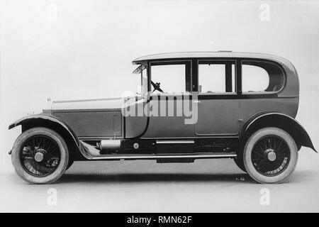 Rolls - Royce Silver Ghost Hooper body - Stock Image
