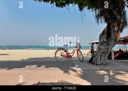 Pattaya beach Thailand Southeast Asia - Stock Image