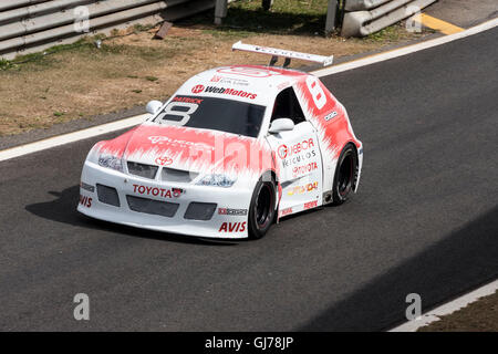 Racing Stock Car Junior Interlagos Brazil - Stock Image