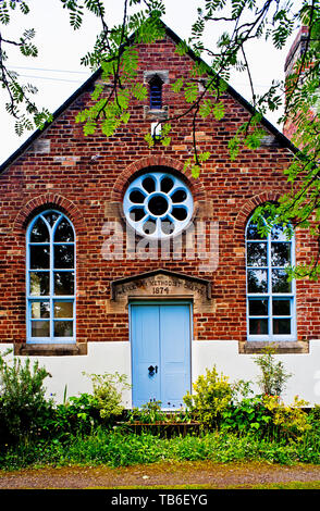 Wesleyan Methodist Chapel, Shincliffe, Durham,, England - Stock Image