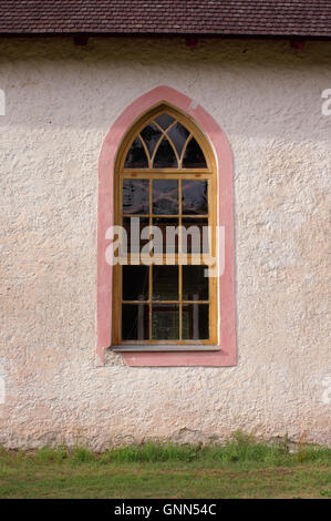 Neo-Gothic style building Urbanuse Church in Varbla was built in 1861. Pärnu county Estonia Baltic States EU - Stock Image