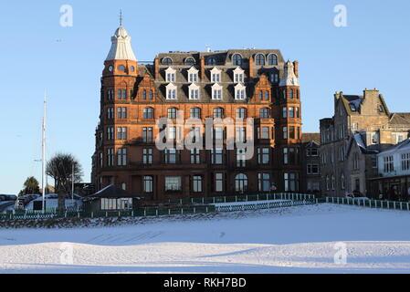 Hamilton Grand luxury apartments St Andrews Fife Scotland   February 2019 - Stock Image