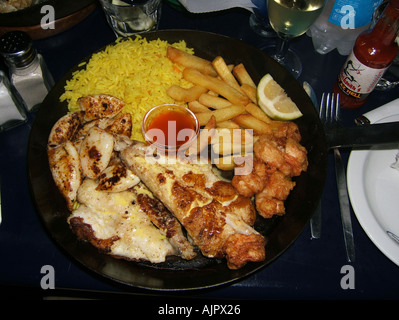 south africa cape town ocean basket restaurant seafood - Stock Image